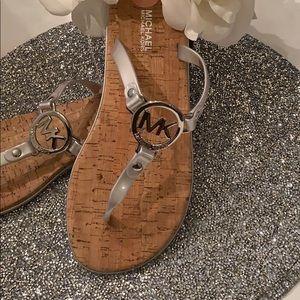 NWT Michael Kors Flip Flops